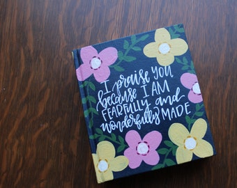 Big Florals Custom Journaling Bible
