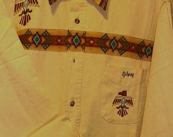 Native American Thunderbird shirt