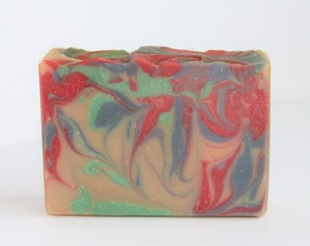 Cream and Honey cold process soap