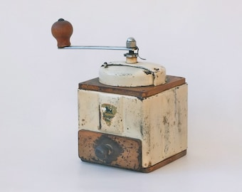 Vintage french coffee grinder / Peugeot