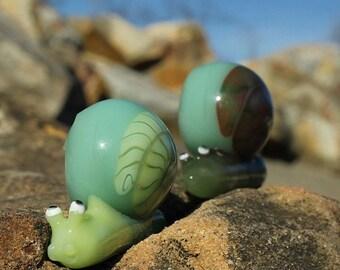 Color-changing Snail Pendants