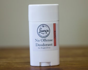 Natural Deodorant - Revitalize - Uplifting and Refreshing - No Offense Deodorant