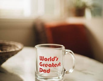 World's Greatest DAD, coffee mug by The Bee & The Fox
