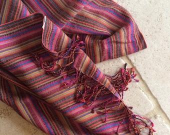 Versitile Multicoloured Scarf/Wrap