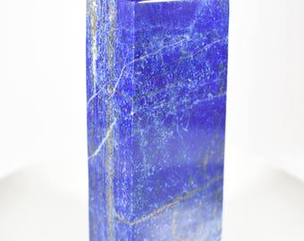 Afghan Lapis Lazuli Obelisk tower scuplture high grade AAA natural beauty decorative