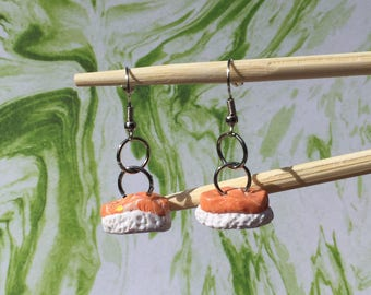 Salmon Nigiri - Earrings