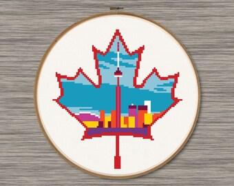 Canada  - PDF Cross Stitch Pattern