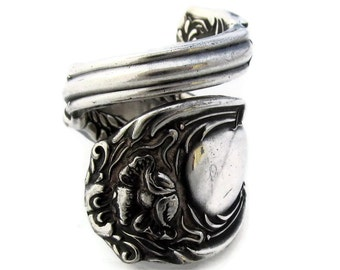 Spoon Ring Beautiful Rare Art Nouveau Hanover Choose Your Size