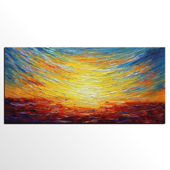 Canvas Painting Canvas Wall Art Original Painting Landscape