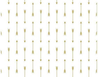 Gold Sparkle Arrows from Riley Blake Designs