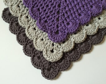 Kitchen Dish Cloths ~ Soft Cotton Wash Cloths