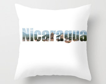 Nicaragua Pillow Cover 16 x 16