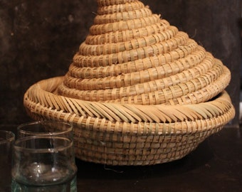 Moroccan bread basket