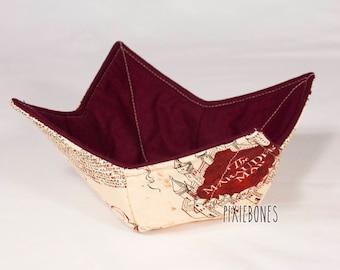 Harry Potter Marauder's Map Bowl Cozy