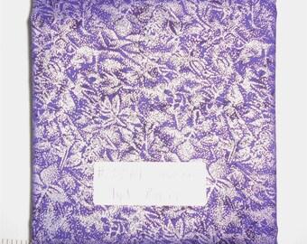 Fairy Frost Fabric - 1yd piece- Ink (Beautiful medium to dark purple) Fairy Frost  D#CM 0376/Michael Miller (#3374)