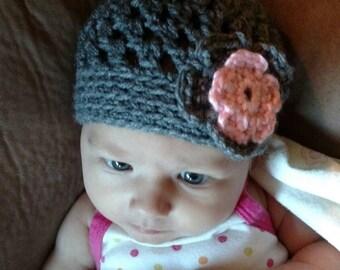 Girl crochet hat