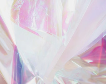 Iridescent Cello Sheets | Pearlescent Cello Sheets | Opal Mylar | Holographic Sheets | Pearlized Cellophane