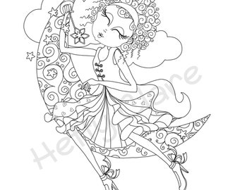 Digi Stamp Wish Upon a Star