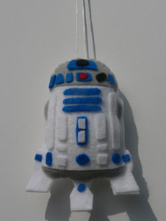 Felt Star Wars Ornament R2D2 Ornament