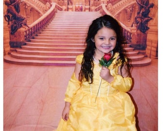 Princess belle dress, Beauty and the beast, princess Belle,