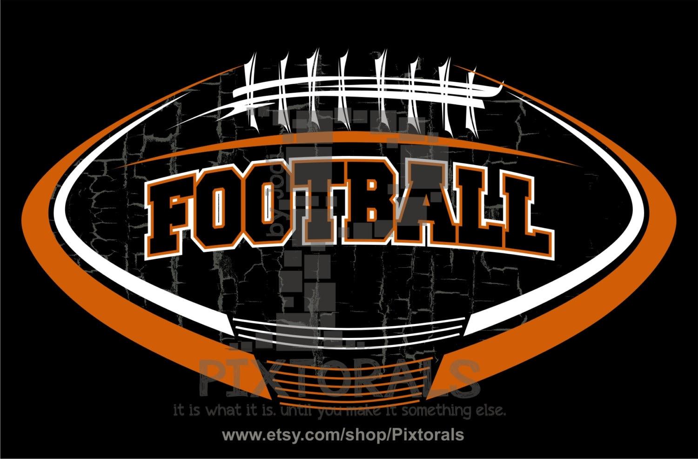 Football Vector Football logo design as PNG JPG high res