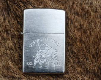 USS Valley Forge CG-50 Zippo unfired