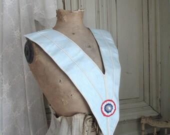 Old scarf of Freemasons