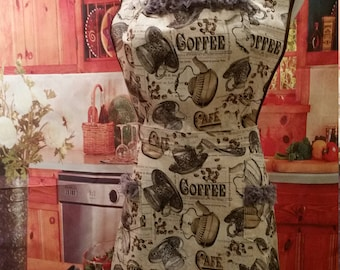 Coffee Woman's Apron