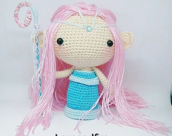 Custom commission crochet doll amigurumi