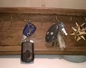 Wooden Wall Keychain