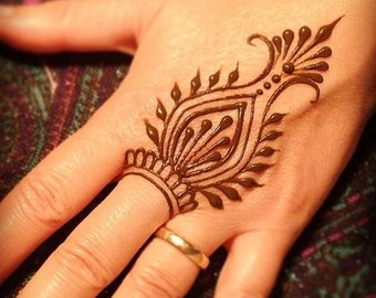 Henna Tattoo Kits Uk : Henna ink etsy