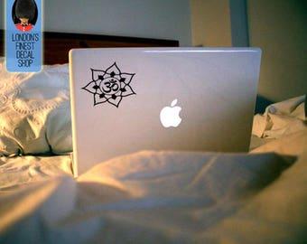 Meditation Mandala Macbook / Laptop Vinyl Decal