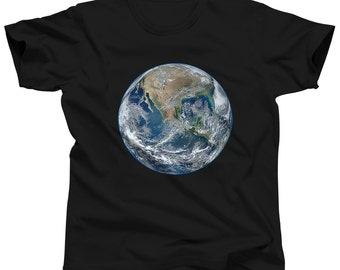 Earth Day Shirt - Earth Science - Mother Earth Shirt - Planet Birthday - Planet Globe Shirt - Planet Shirt - Planet T Shirt - Solar System