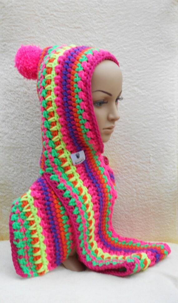 Vistoso Patrón De Crochet Libre Scoodie Bosquejo - Manta de Tejer ...