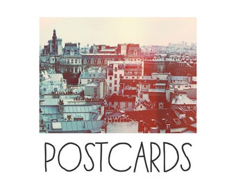 Postcards - Single Card - Blank Cards - Paris Revisited - French Photography - Paris Photograph - Stationary - Paris Art - Paris Print