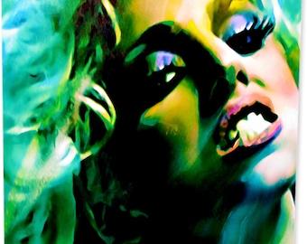 Lady Gaga art print wall decor | Artwork worth collecting - md.lg.m by Mark Lewis Art ®
