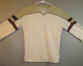1970's Long Sleeved Terry Shirt, ALFIE of California Label // Good Condition...small