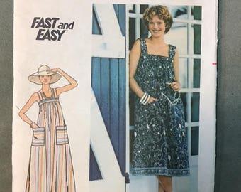 Butterick 4821 - Vintage Darling Sundress!