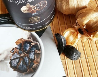 Eravital® Black Garlic 65 gr. (2.3 oz - 2 Bulbs) - %100 Taskopru Garlic from TURKEY