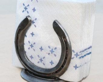Horseshoe Napkin Holder - The Heritage Forge