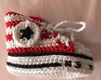 Basket-chausson porte-clés AS MONACO