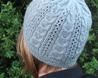 PDF Dover Beanie Knitting Pattern