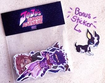 Jojo's Bizarre Adventure Sticker Set
