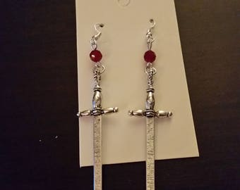 Fate/Apocrypha Mordred inspired image earrings Fate/Grand Order
