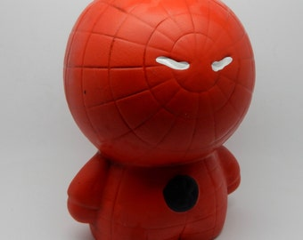 A Vintage, Retro Collectable , Spiderman Money Box , Boho , Shabby Chic, Collectable