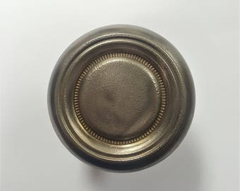 Antique Silver Steel Doorknob 530524