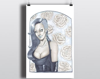 Death and Roses - 11x17 Art Print - Discontinued