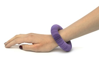 violet: Bracelet CARTA - paper jewelry