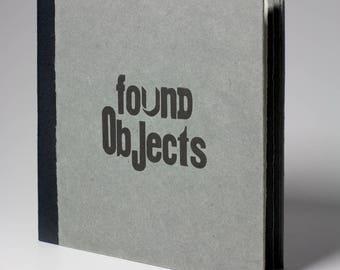 Found Objects - Handmade Book - Hardback