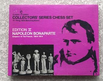 Collectors' Series Chess Set NAPOLEON BONAPARTE Edition II - Classic Games Company - 1966